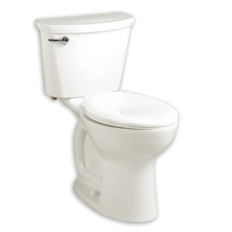 Cadet 1.6 GPF Elongated Two-Piece Toilet (Seat Included)