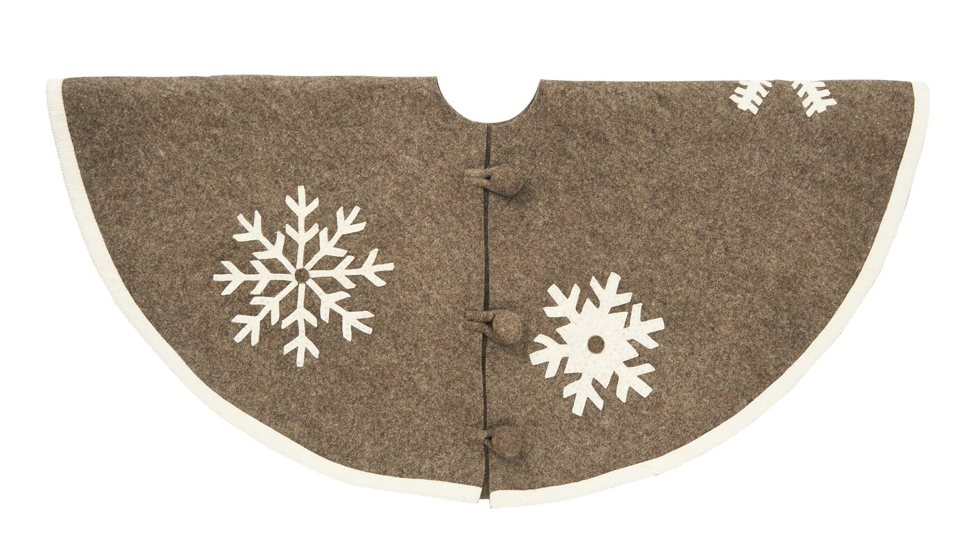 Snowflake Tree Skirt