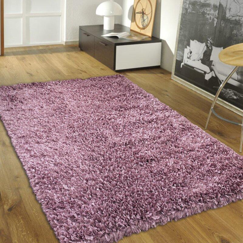 Handmade Purple Area Rug