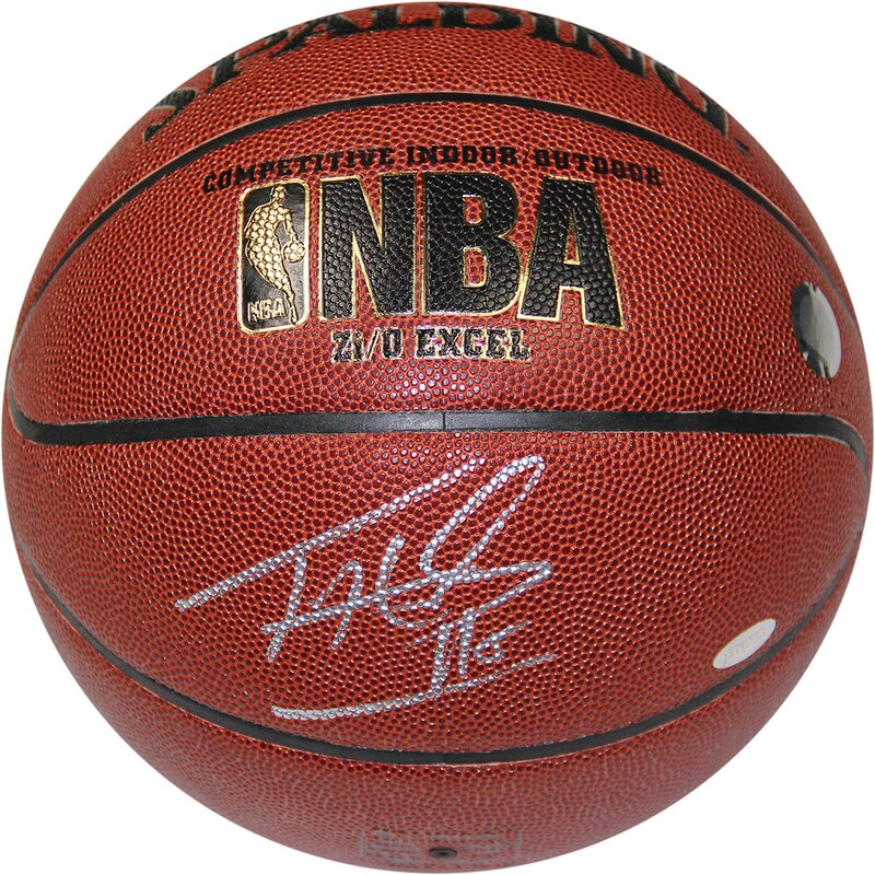 Tim Hardaway Signed Zi/O Basketball