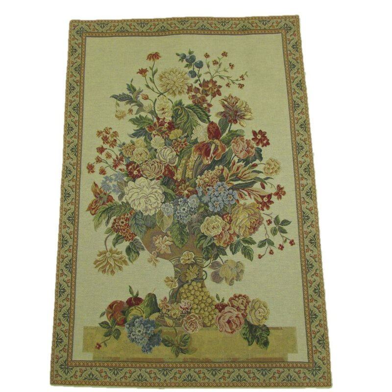 Majestic Bouquet Tapestry