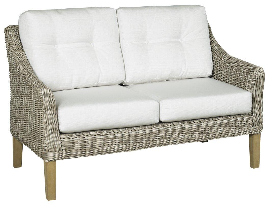 Carlisle Loveseat with Cushions