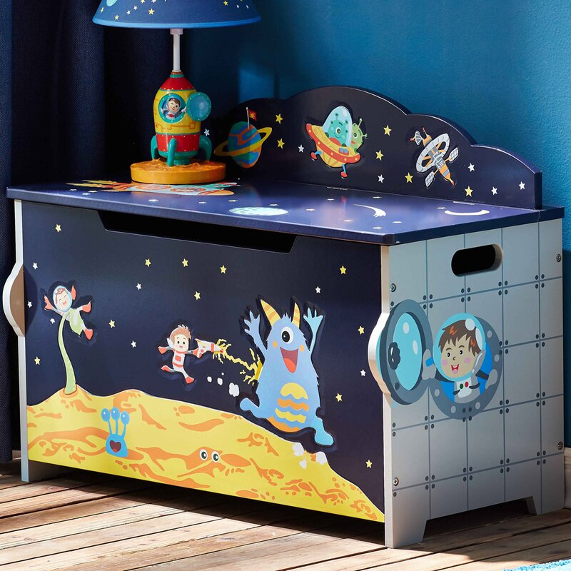 Outer Space Toy Box