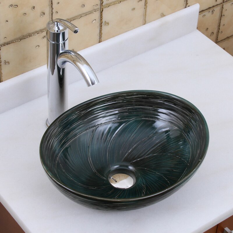 Elite Oval Vessel Bathroom Sink