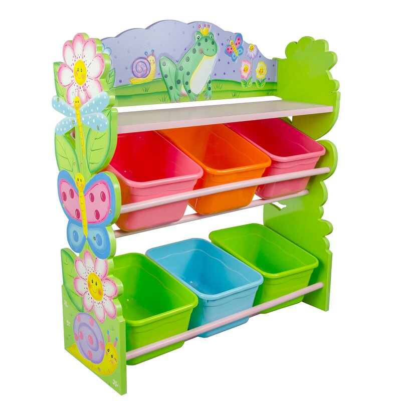 Magic Garden Toy Organizer