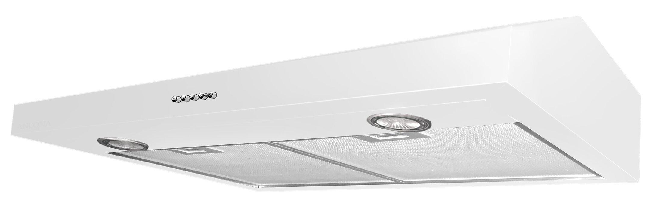 "30"" Slim Series 280 CFM Convertible Under Cabinet Range Hood"