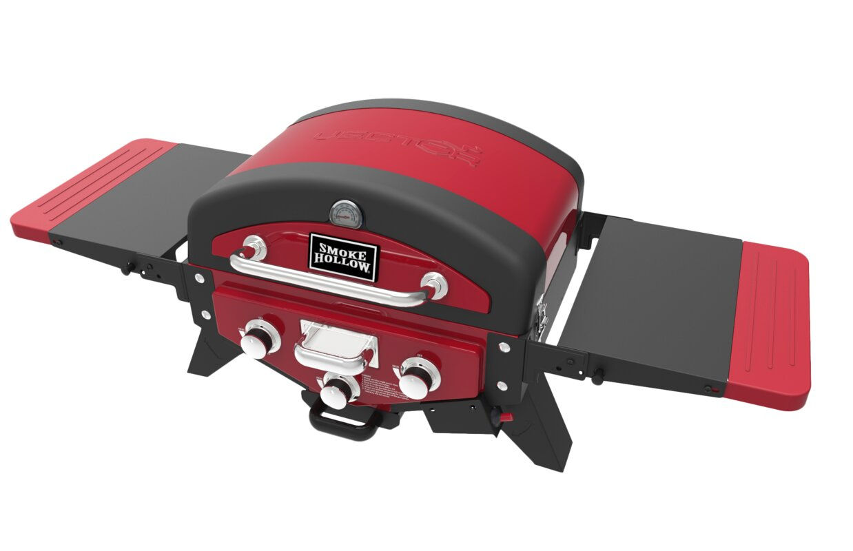 "Vector 20"" 3-Burner Propane Gas Grill"