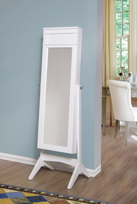 Ashley Jewelry Armoire with Mirror