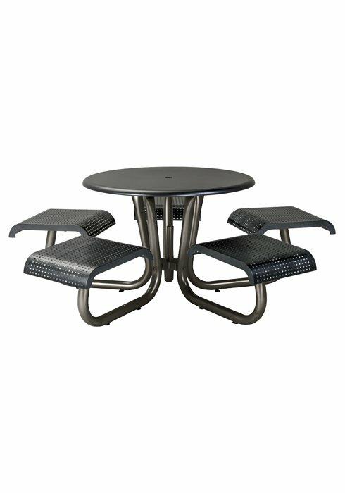Site Furnishings Aluminum Picnic Table