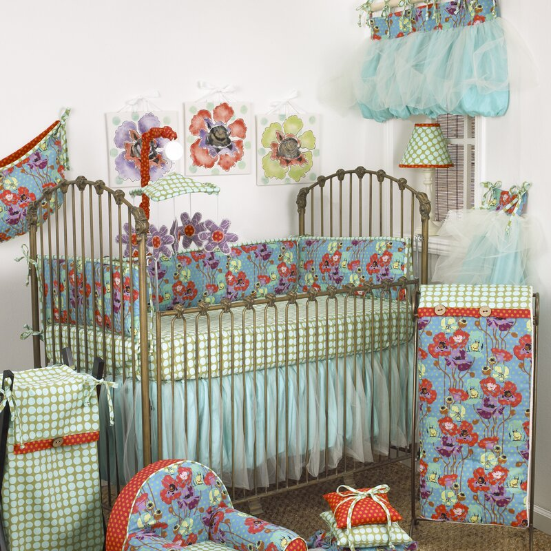 Lagoon 10 Piece Crib Bedding Set