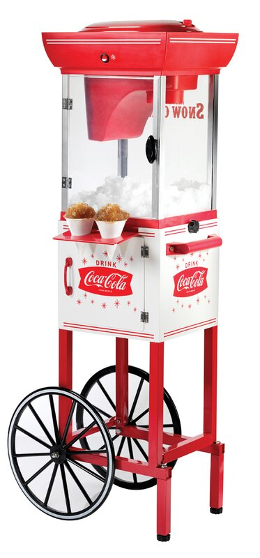 Nostalgia Coca-Cola Series Snow Cone Cart