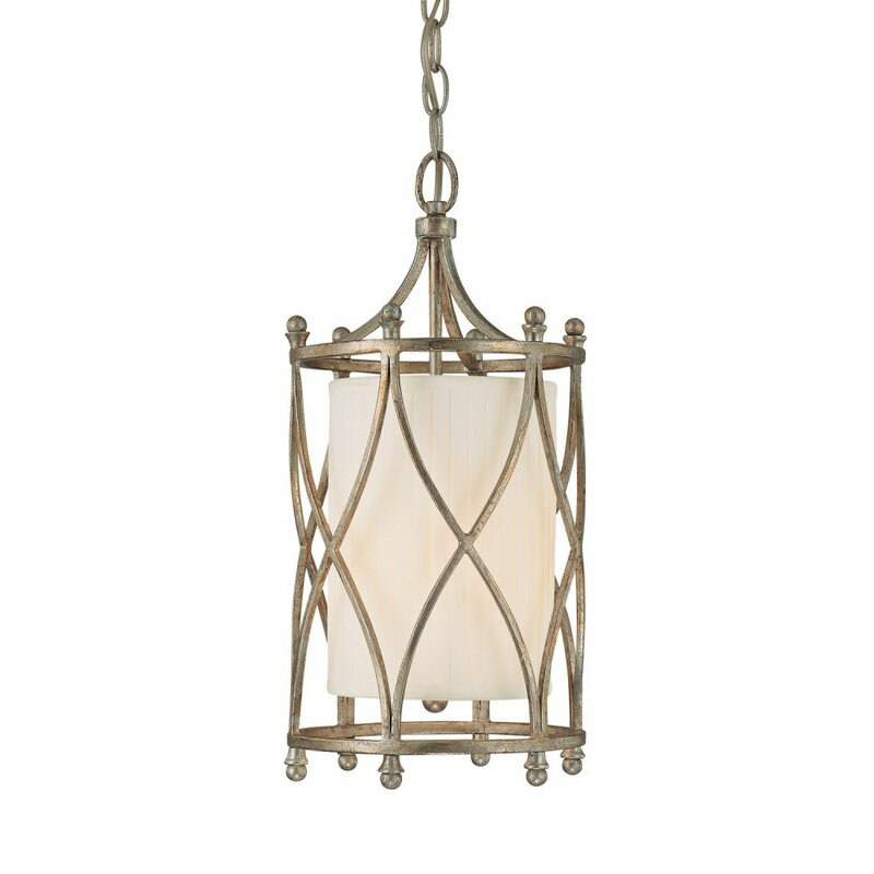 Santillan 1-Light Lantern Pendant