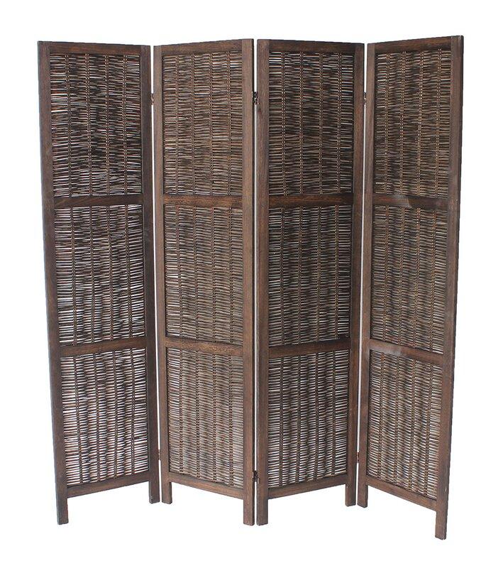 Madalynn 4 Panel Room Divider