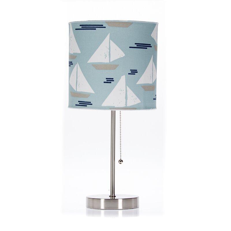 "Little Sail Boat Mod 24"" Table Lamp"