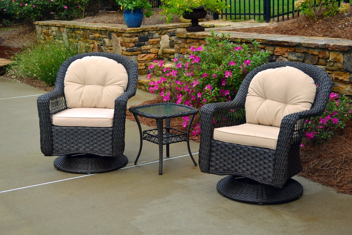 Gleeson 3 Piece Conversation Set with Cushions