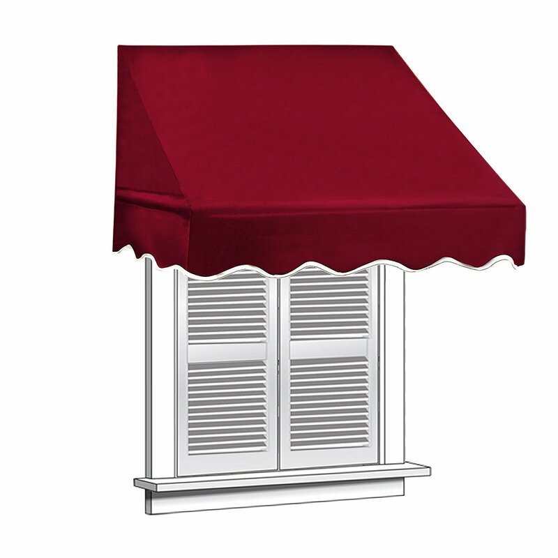 8 ft. W x 2 ft. D Window Awning