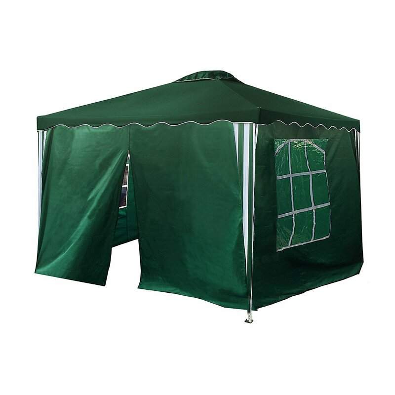 10 Ft. W x 10 Ft. D Steel Pop-Up Canopy