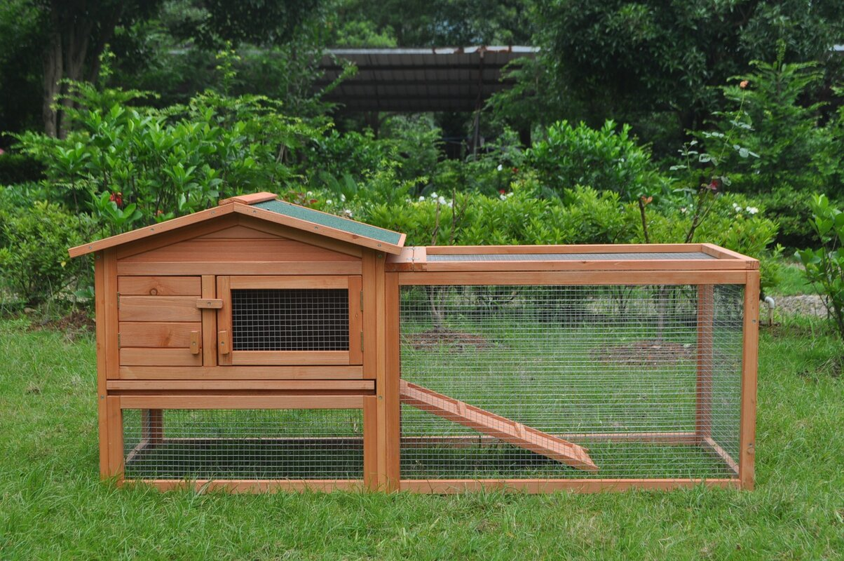 Dakota Wooden Poultry Hutch