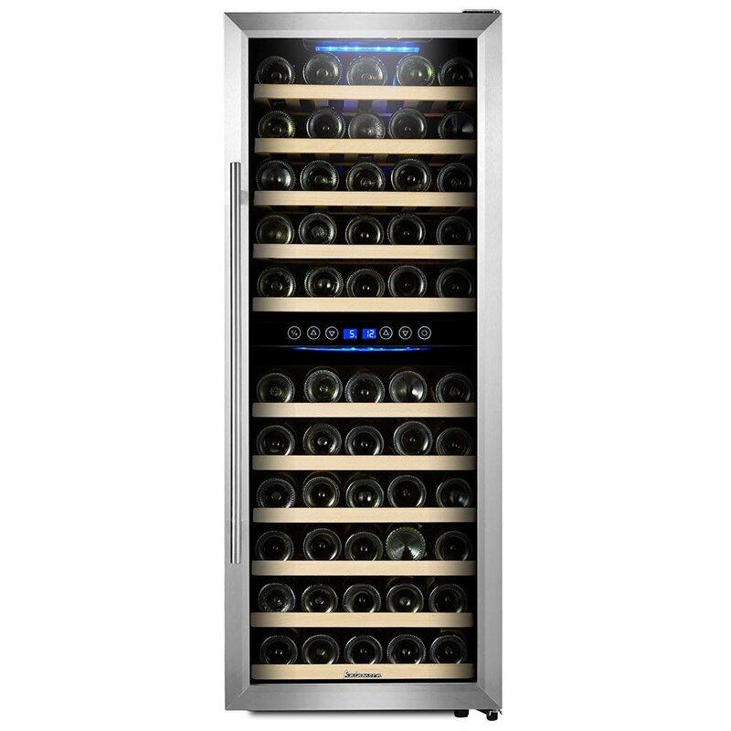 73 Bottle Freestanding Wine Cooler