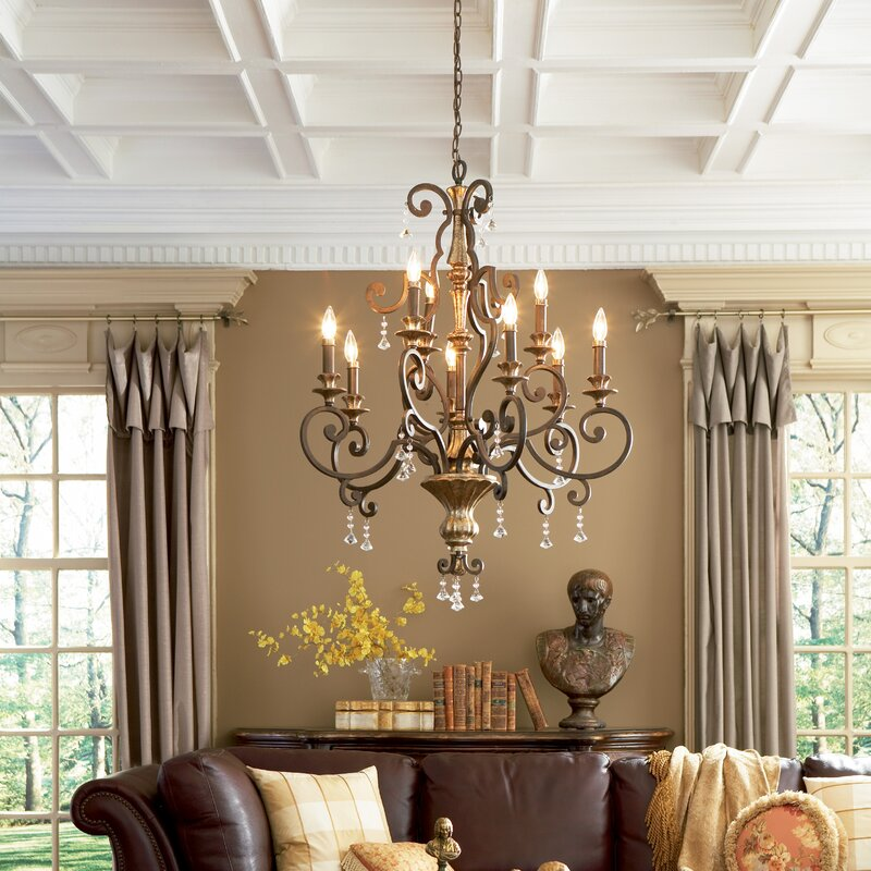 Windsor Rise 9-Light Chandelier