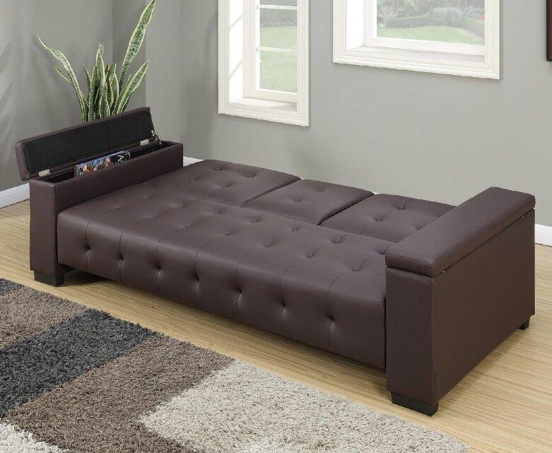 Cortez Adjustable Storage Sofa
