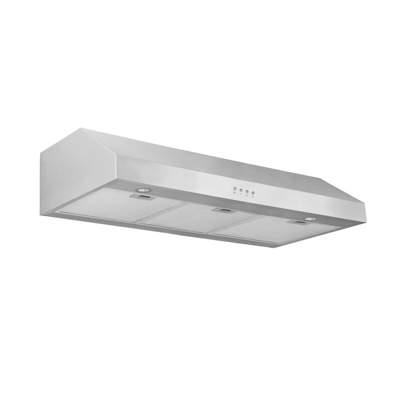 "36"" Advanta Pro III 450 CFM Ducted Under Cabinet Range Hood"