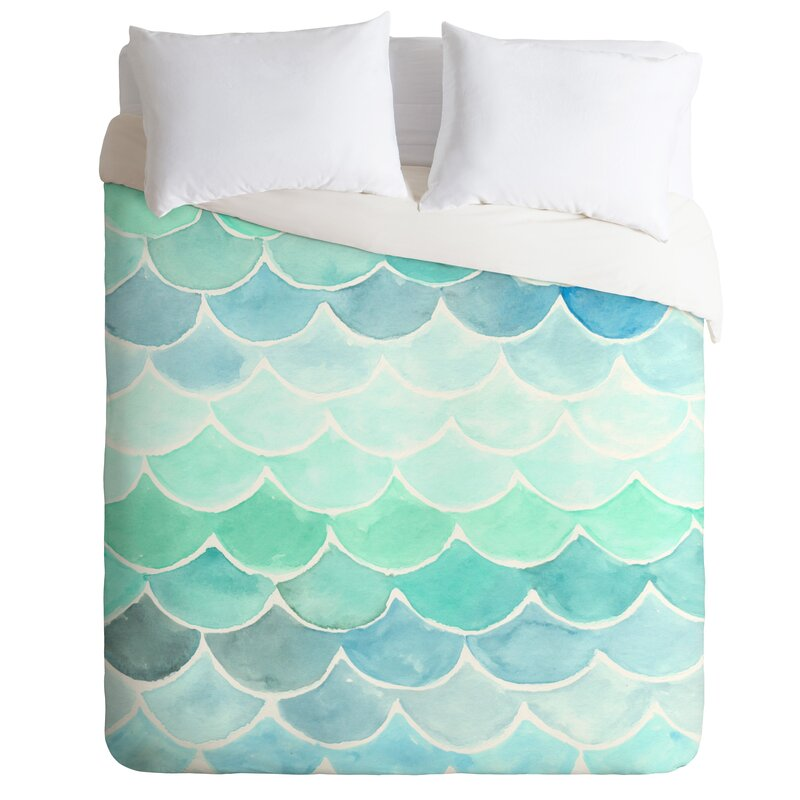 Mermaid Scale Duvet Cover
