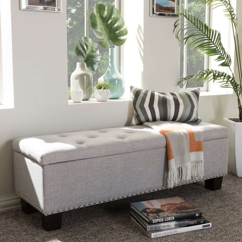 Ouzts Upholstered Storage Bench