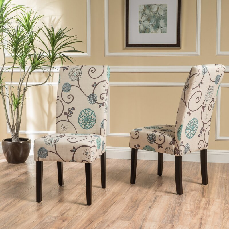 Olin Upholstered Dining Chair (Set of 2)