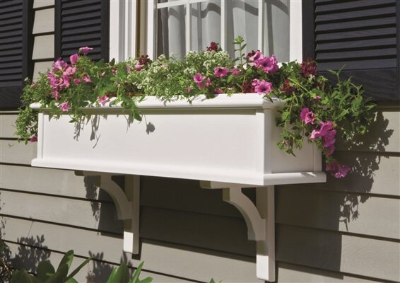 Charleston 1-Piece Window Box Planter