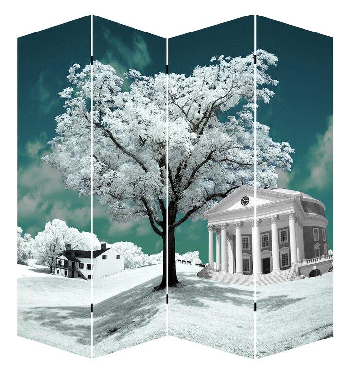 Chandra Tree of Life Art 4 Panel Room Divider