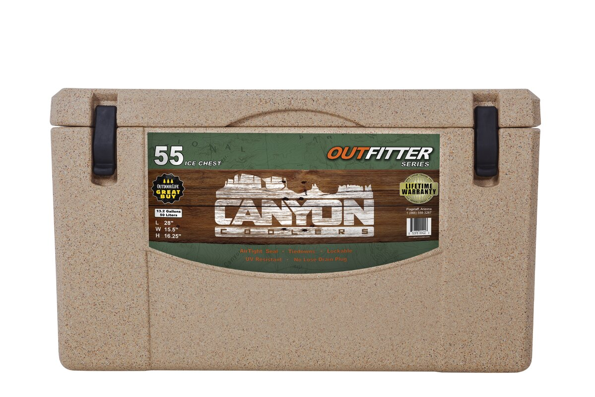 55 Qt. Outfitter Rotomolded Cooler