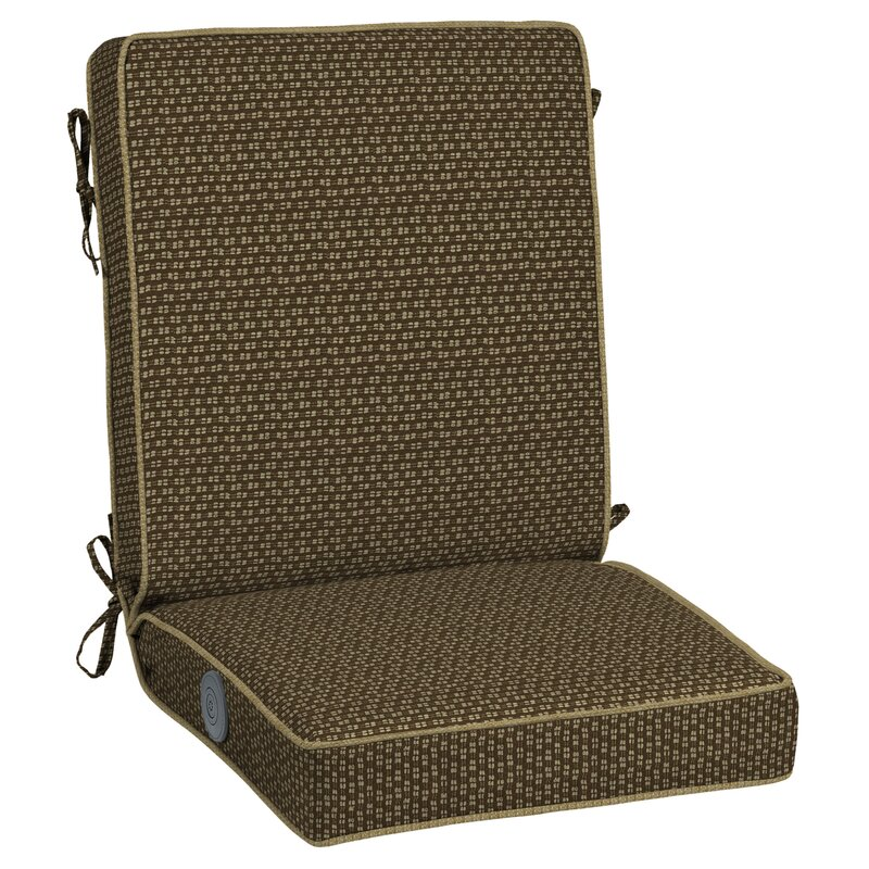 Rhodes Adjustable Comfort Indoor/Outdoor Lounge Chair Cushion