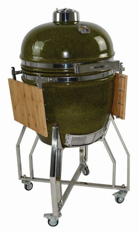 "19"" Autumn Ceramic Kamado Charcoal Grill"