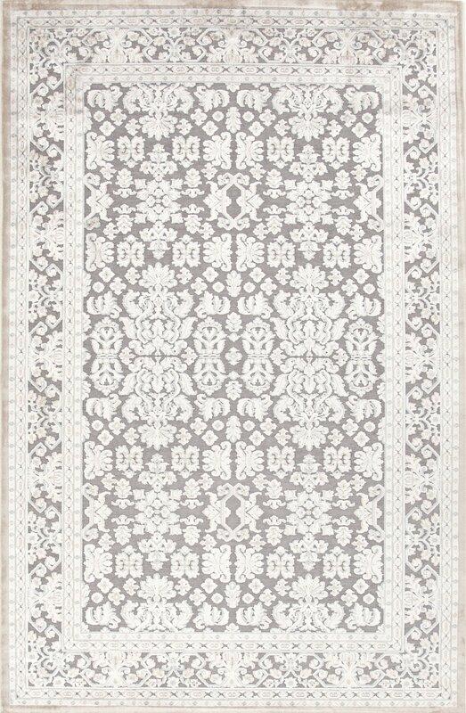 Orona Hand-Tufted Gray/Ivory Area Rug