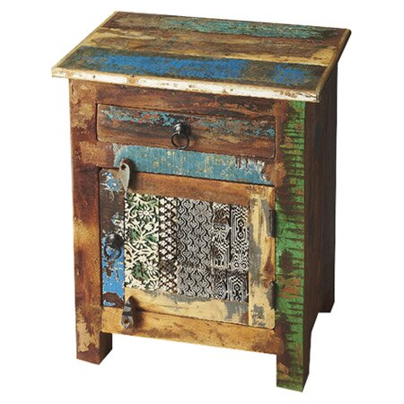 Finch 1 Drawer Accent Cabinet