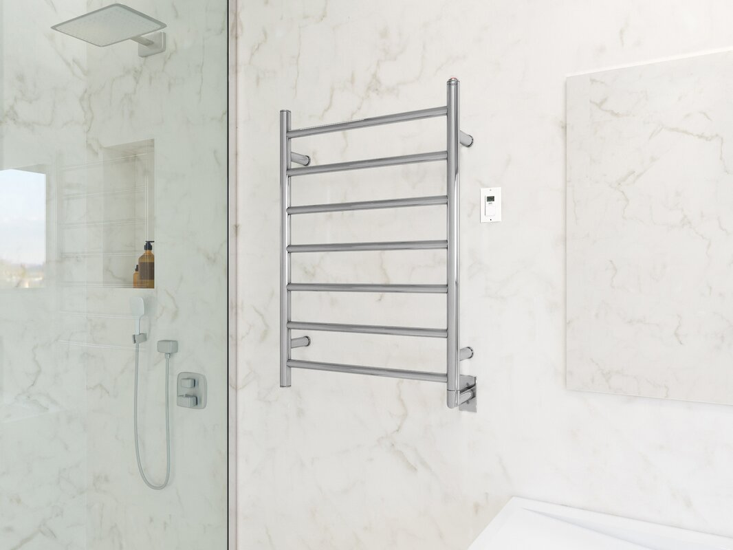 Comfort Wall Mounted Electric Towel Warmer with Timer