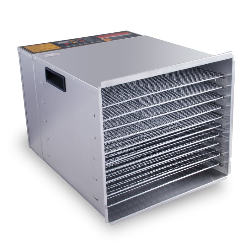Della 10 Tray Commercial Dryer Food Dehydrator