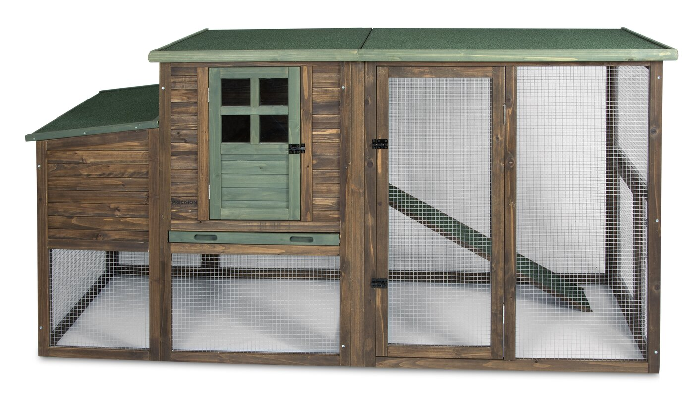 Hen House II Chicken Coop with Roosting Bar