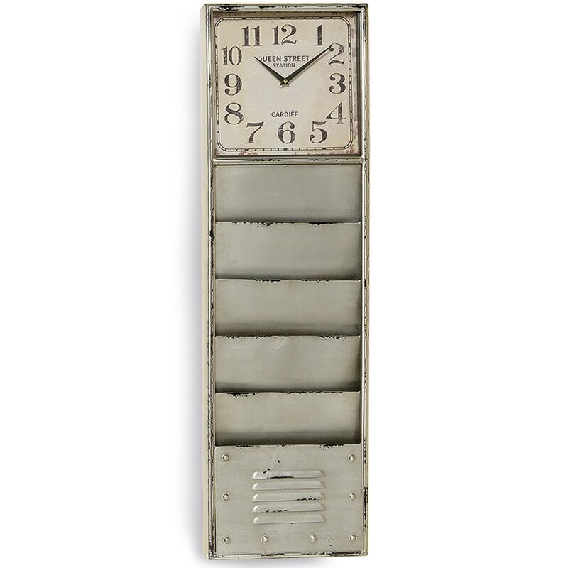 "Locker 39"" Floor Clock"