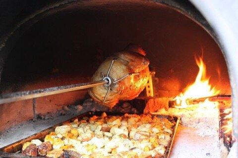 Brick Oven Rotisserie