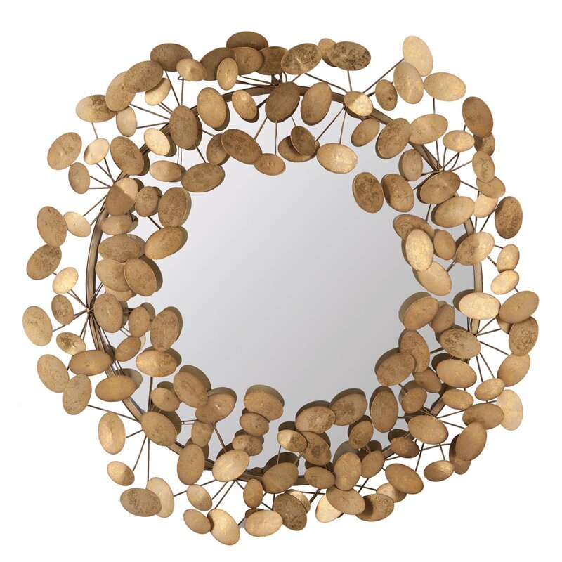 Pressed Penny Accent Wall Mirror