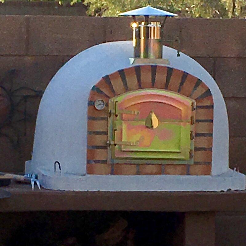 Traditional Brick Lisboa Wood Fire Oven