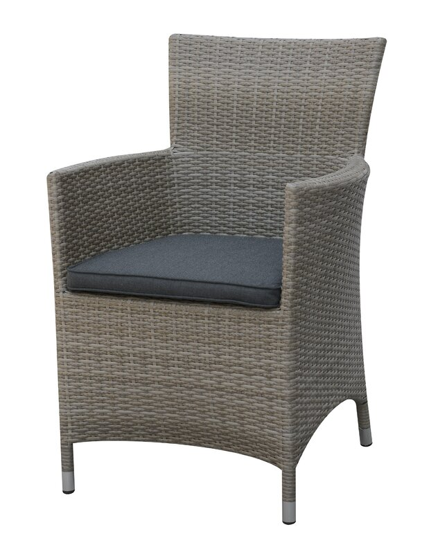 Rica Patio Dining Chair with Cushion