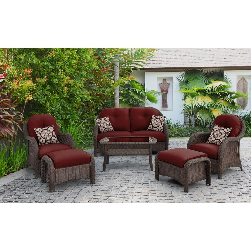 Sturminster 6 Piece Sofa Set with Cushions