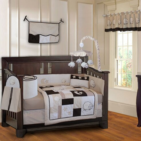Kimberly Sheep/Lamb Baby 10 Piece Crib Bedding Set