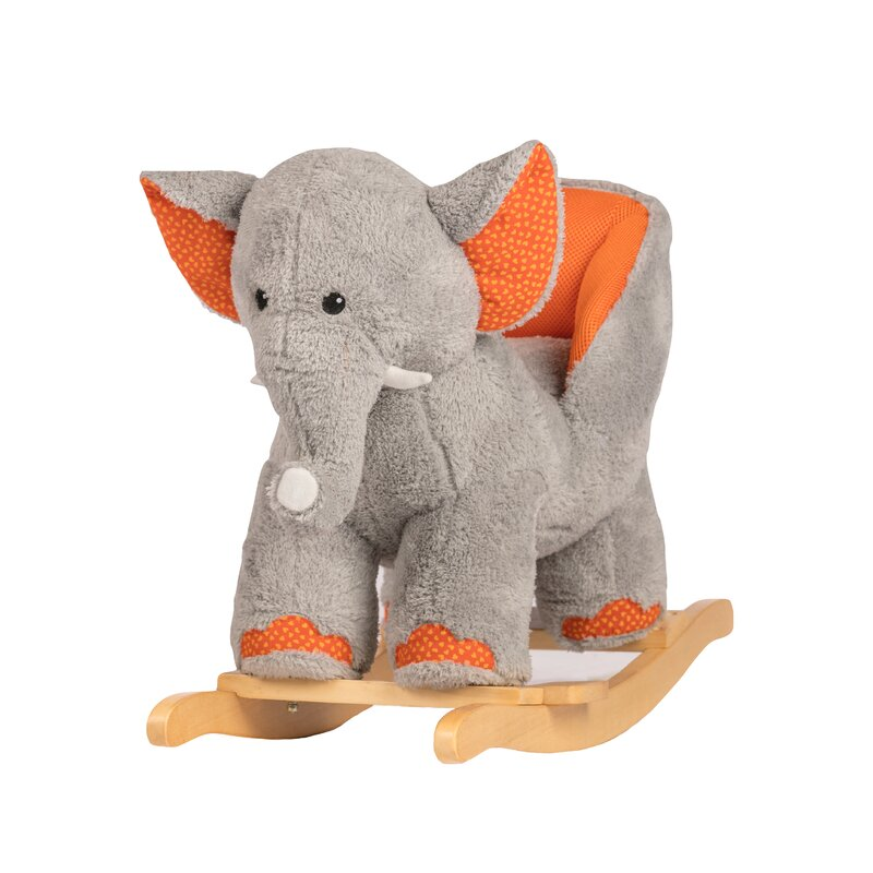 Ernie the Elephant Baby Rocker