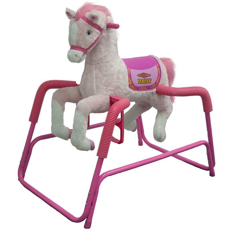 Daisy Spring Rocking Horse