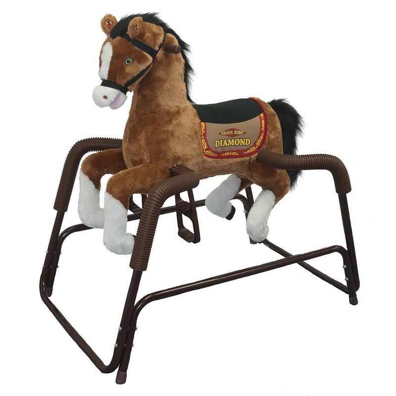 Diamond Spring Rocking Horse