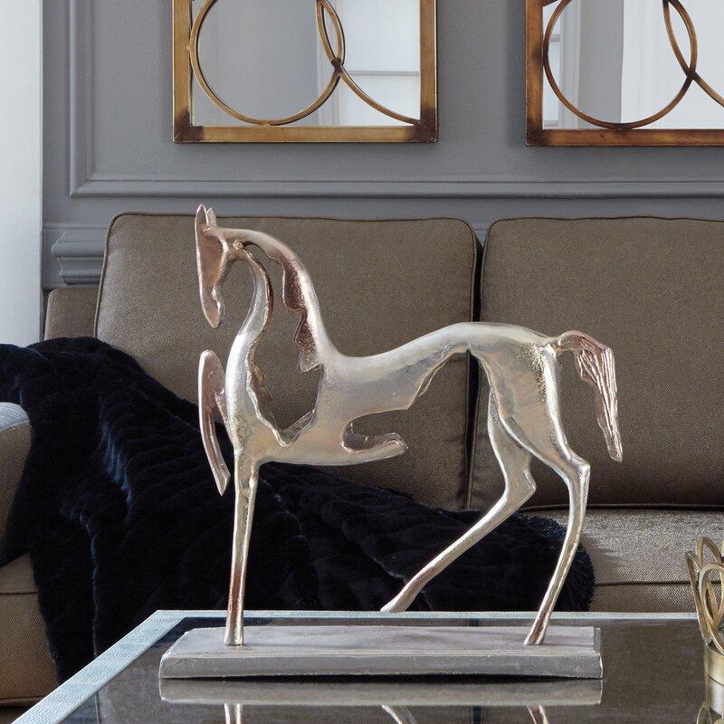 Aviva Aluminum Horse Figurine